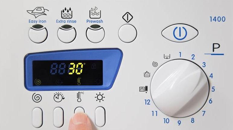 Выставлять температуру стирки нужно не выше 30 градусов