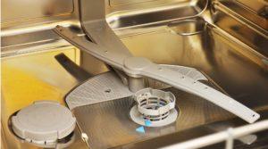 В посудомоечной машине не крутятся разбрызгиватели