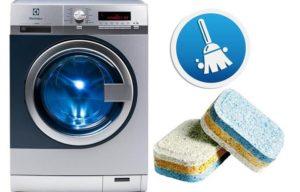 Как почистить стиральную машину таблетками для посудомойки