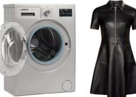 Можно ли стирать экокожу в стиральной машине