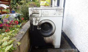 Не оставляйте стиральную машину без присмотра