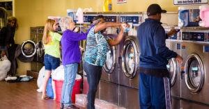 Почему в США нельзя иметь стиральную машину дома?