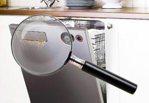 Проверка посудомоечной машины при покупке