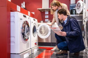 Проверка стиральной машины при покупке