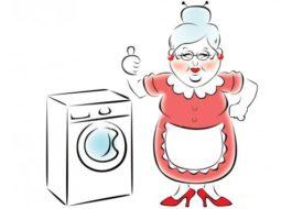 Простая стиральная машина для пожилых людей