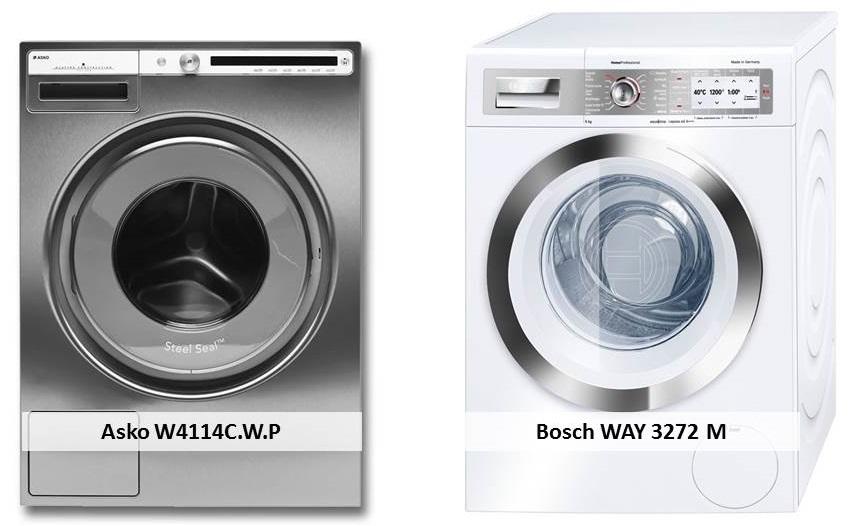 Bosch WAY 3272 M Asko W4114C.W.P