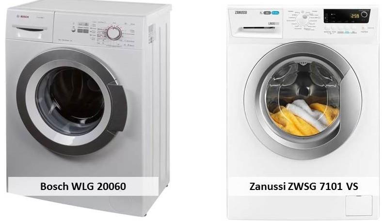 Bosch WLG 20060 Zanussi ZWSG 7101 VS
