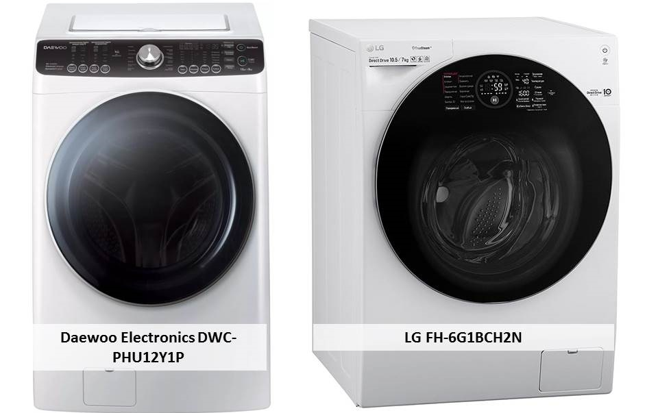 LG FH-6G1BCH2N Daewoo Electronics DWC-PHU12Y1P
