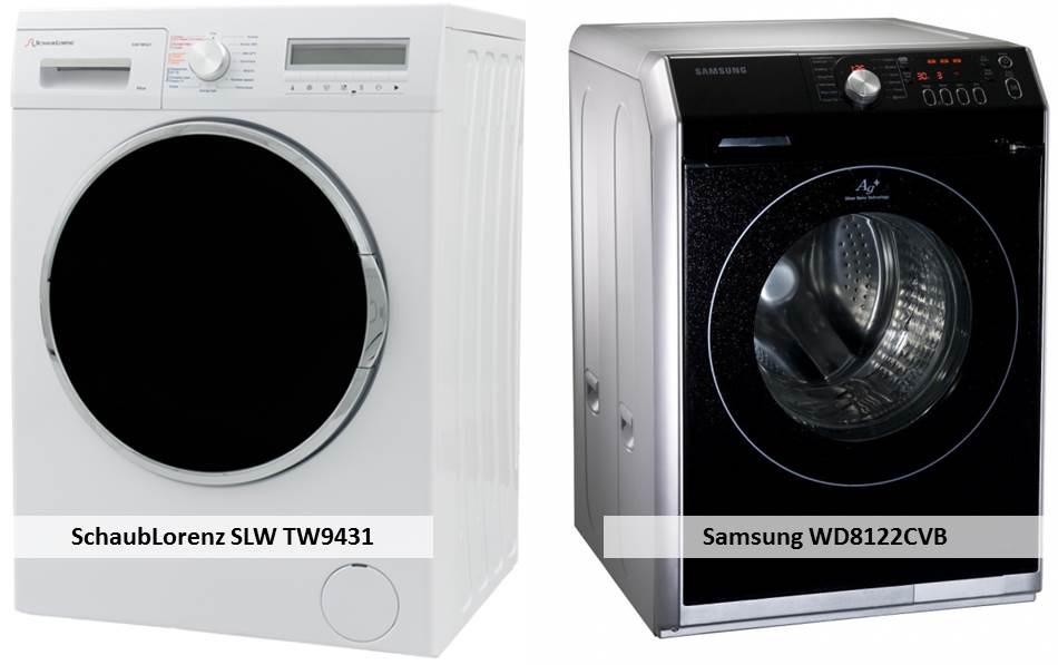 Samsung WD8122CVB SchaubLorenz SLW TW9431