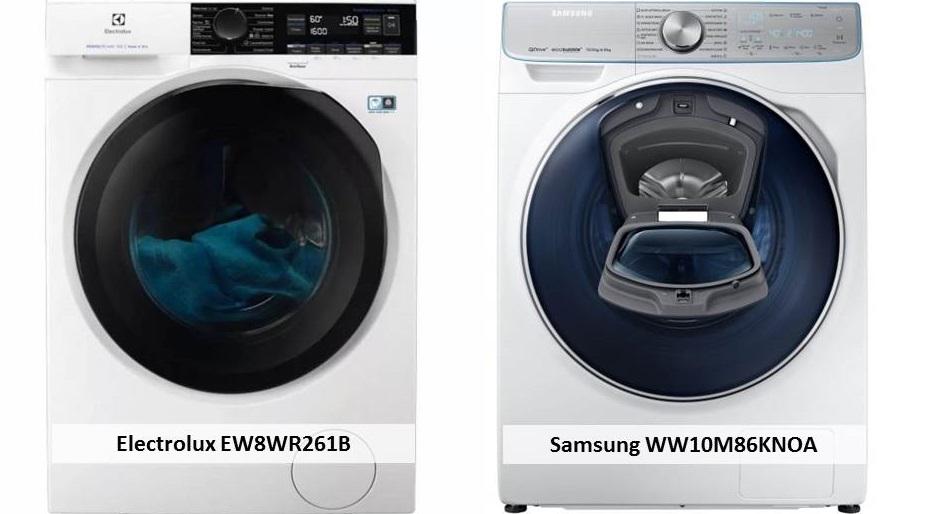 Samsung WW10M86KNOA Electrolux EW8WR261B