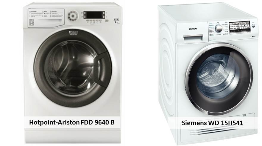 Siemens WD 15H541 Hotpoint-Ariston FDD 9640 B