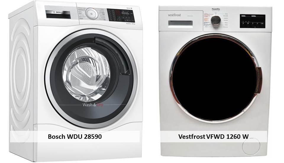 Vestfrost VFWD 1260 W Bosch WDU 28590