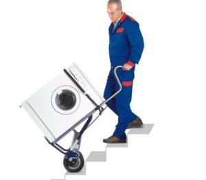 Как одному перенести стиральную машину