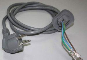 Как поменять сетевой шнур стиральной машины?