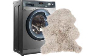 Как постирать овчину в стиральной машине