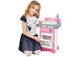 Обзор детских игрушечных посудомоечных машин