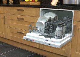 Обзор низких посудомоечных машин