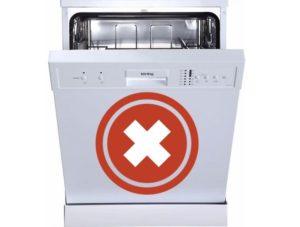 Почему не работает посудомоечная машина