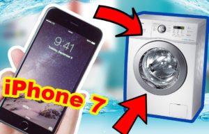 Что делать, если постирал Айфон в стиральной машине
