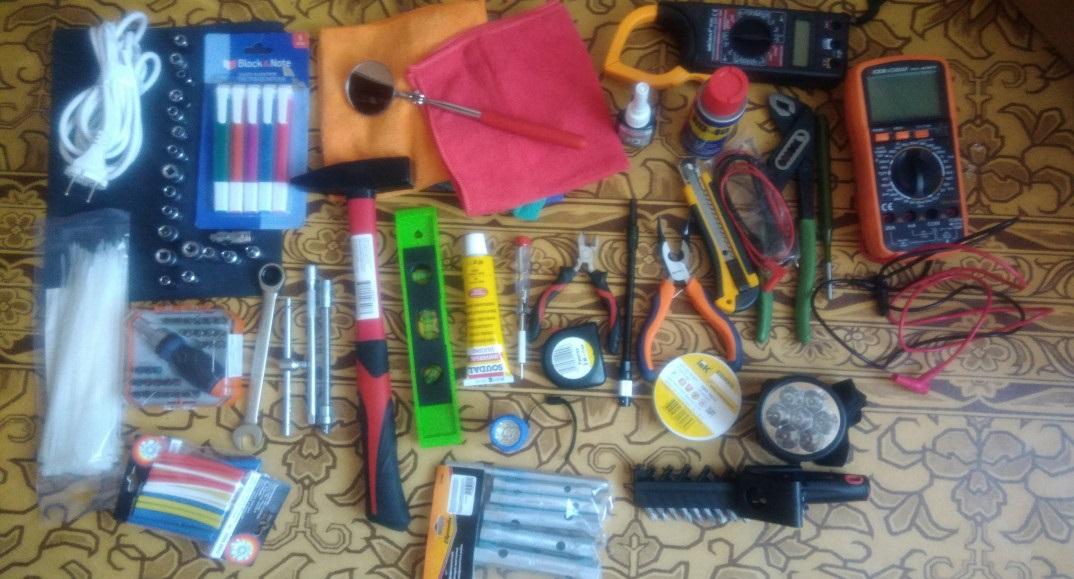 инструменты для ремонта машинки LG