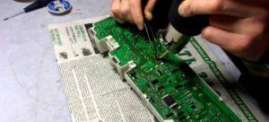 проверяем и ремонтируем плату управления