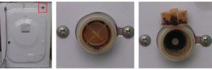 чистим фильтр наливного клапана