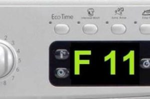 Ошибка F11 в стиральной машине Ariston