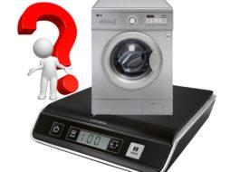 Вес стиральной машины LG