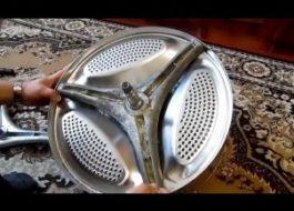 Замена крестовины в стиральной машине LG