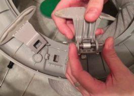 Замена ручки дверцы стиральной машины LG