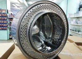 Как заменить барабан в стиральной машине LG?