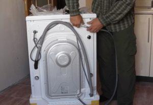 Как подключить стиральную машину LG