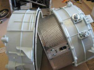 Как разобрать барабан в стиральной машине LG