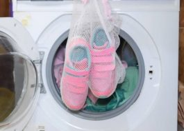 На какой программе стирать кроссовки в стиральной машине LG?