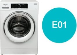 Ошибка E01 стиральной машины Вирпул