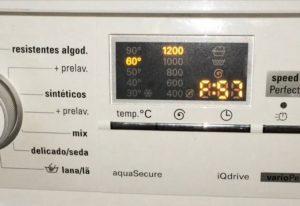 Ошибка F57 в стиральной машине Бош