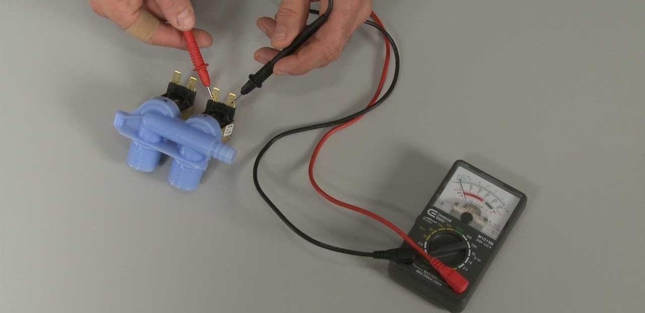 проверка впускного клапана мультиметром