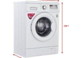 Какие размеры у стиральной машины LG?