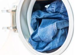 На каком режиме стирать джинсы в стиральной машине LG?