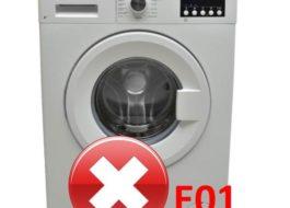 Ошибка E01 на стиральной машине Vestel