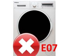 Ошибка E07 в стиральной машине Hansa