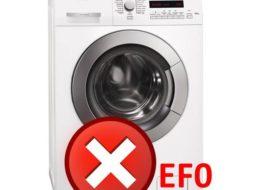 Ошибка EF0 в стиральной машине AEG