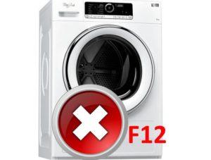 Ошибка F12 в стиральной машине Whirlpool