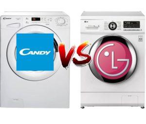 Что лучше: стиральная машина Candy или LG?