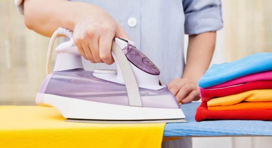 белье легче гладится