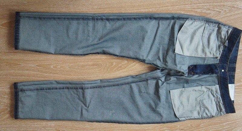 выворачиваем джинсы наизнанку