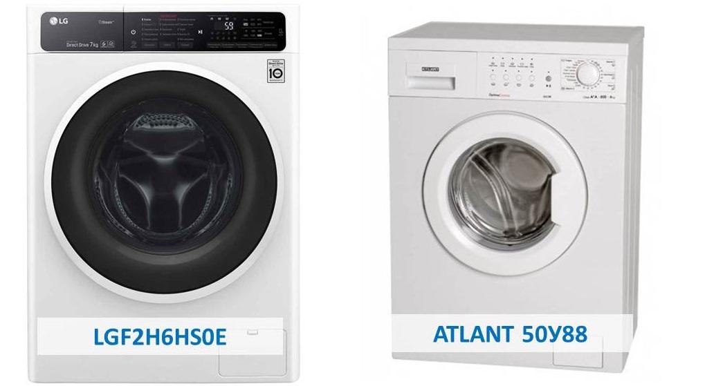 отзывы о моделях LG и Атлант