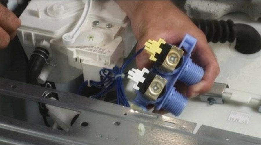 проверим впускной клапан на машинке Ханса