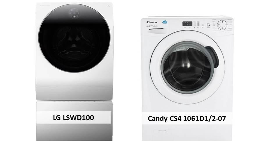 Candy CS4 1061D1 2-07 LG LSWD100