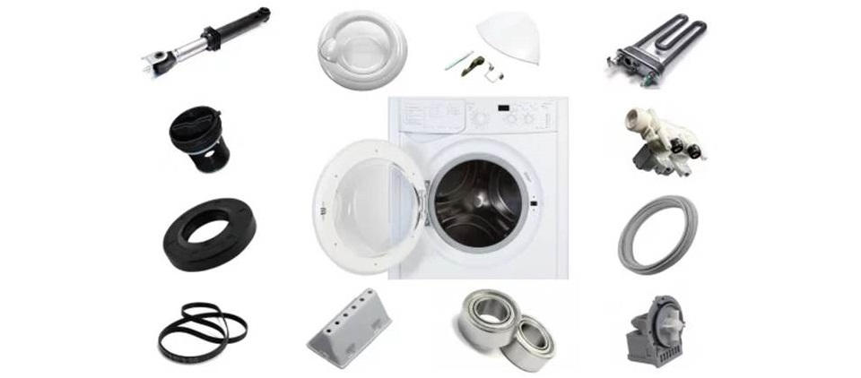 Детали стиральной машины Индезит